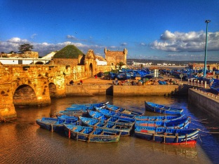 Essaouira, a calm fishing and port city
