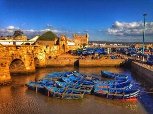 Essaouira, a calm fishing and port city