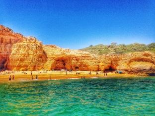 Beautiful beach in Algarve
