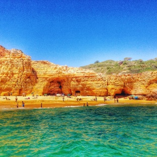 Beautiful beach in Algarve