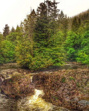 River in Snowdonia National Park