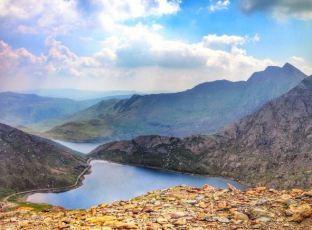 Peak of Snowdon Mountain - we made it!