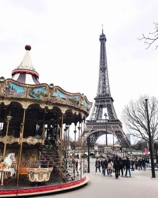 Mandatory shot of the Eiffel Tower