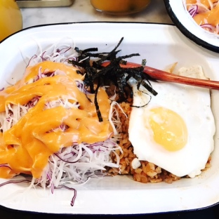 Kimchi Bokeum Bab